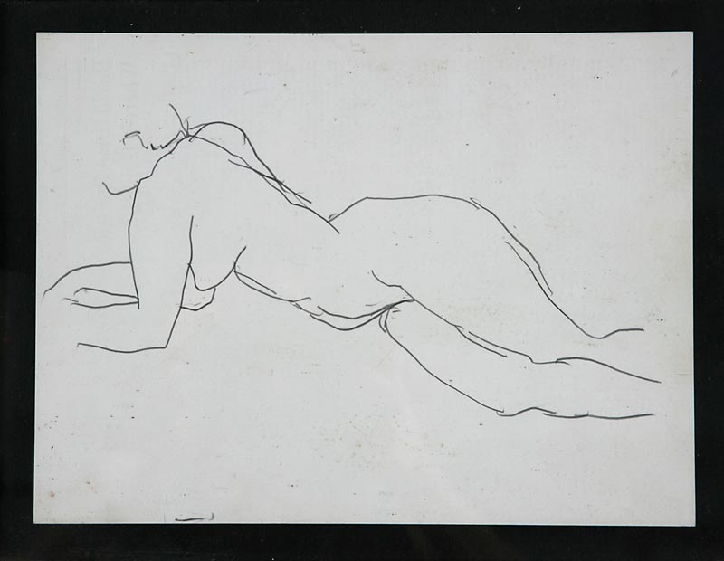 Figure Resting Elbows