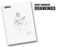 Terry Rodgers - Drawings (Amsterdam), May 2009