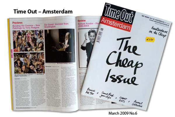 Time Out (Amsterdam), No. 6 March 2009